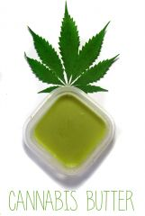 Cannabis Cookbook   Gotuj Z Ambasadorka   gotowe masełko