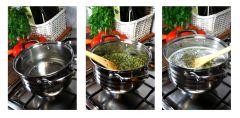 Masło Konopne z Topów Super Silver Haze -procesy gotowanie i utwardzanie tłuszczu