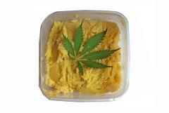Masło Konopne z Topów Super Silver Haze.-procesy utrwardzania masła konopnego