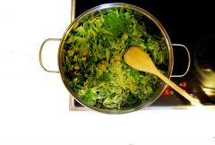 Proces gotowania masła konopnego- Hashberry & Speedqueen -  III przegotowanie 3litry wody