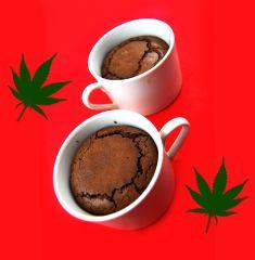 Czekoladowy Pudding Konopny - weed pudding