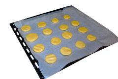 Kruche ciasteczka konopne - pieczenie