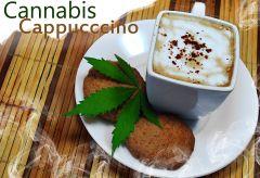 cannabis coffe   cappuccino