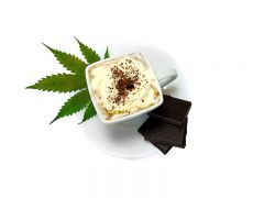 Hot Cannabis Chocolate   Goraca czekolada konopna
