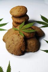 Cannabis cookie  Czekoladowe Ciastka konopne