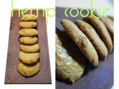 Cannabis cookie -ciasteczka z marihuana - hemp cookie