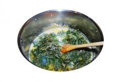 Masło Konopne z suszu - przy topowe ususzone liście konopi