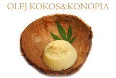 SPAnnabis Olej Kokosowy Z topem Sativy
