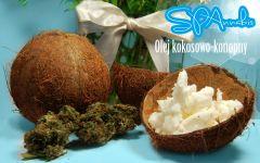SPAnnabis Olej Kokosowy Z topem
