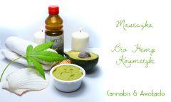 SPAnnabis Cannabis Cosmetics maseczka Z awokado
