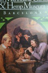 Cannabis Hemp Muzeum W barcelonie   muzeum konopne plakat