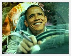 stoned obama driving