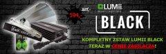 SET Lumii Black - elektroniczny